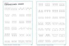 Motivübersicht | Formenzeichnen - Bänder