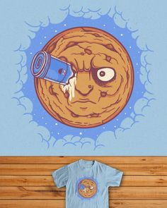 Trip To The Cookie  Up For Scoring on Threadless...http://www.threadless.com/submission/406193/Trip_To_The_Cookie