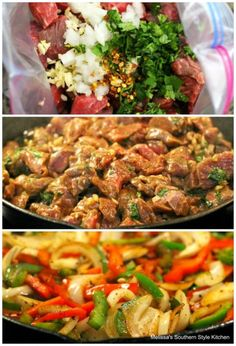 This Sauteed Sirloin Tips with Bell Peppers and Onions is a versatile skillet meal that's sure to please the steak eaters at your table. Recipe For Sirloin Tip, Sirloin Steak Recipes, Sirloin Tips, Sirloin Steaks, Beef Tip Recipes, Onion Recipes, Beef Tips, Sausage Recipes, Steak Tips