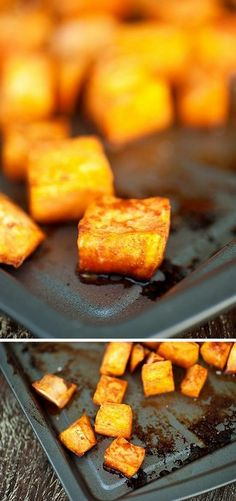 Honey Cinnamon Roasted Sweet Potatoes   Foodiboum