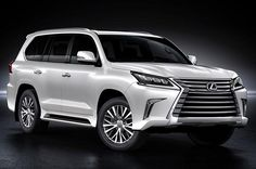 Best 8 seater suv - Lexus LX570