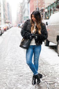 Snowing in Soho