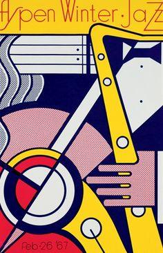 Roy Lichtenstein - Aspen Winter Jazz 1967