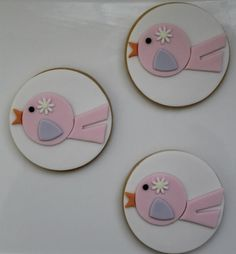 SweetTable's fondant birds
