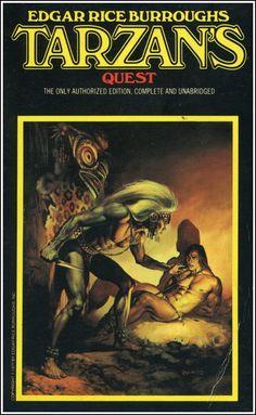 Tarzan's Quest by Edgar Rice Burroughs