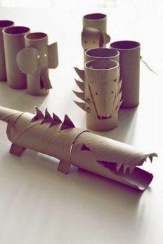http://minikportakal.blogspot.com.tr MiNiK PoRTaKaL: Tuvalet Kağıdı Rulosundan Etkinlikler...