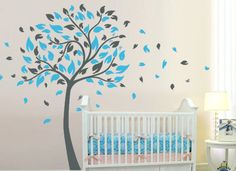 Kids+Tree+Wall+Decal+Baby+Nursery+Wall+Sticker++por+ArtHomeDecal,+$79,00