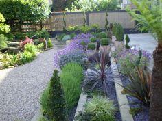 Very interesting garden design