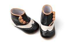 high buttoned baby shoes ... new!