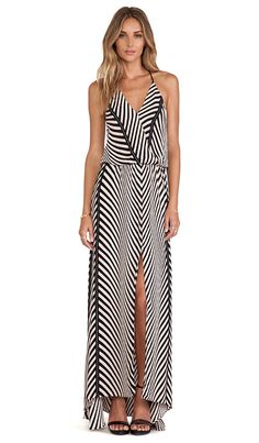 Karina Grimaldi Draco Printed Maxi Dress in Grey Maddison | REVOLVE