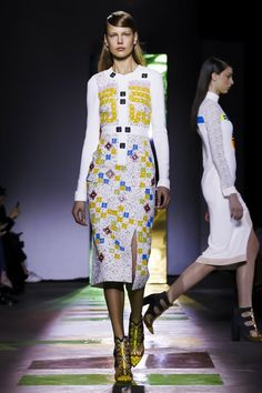The Best of London Fashion Week Fall 2015 - Peter Pilotto Fall 2015