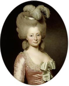 Alexander Roslin, Portrait of a Lady, 1780
