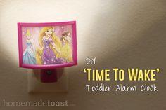 """""""Time to Wake"""" Nightlight DIY"""
