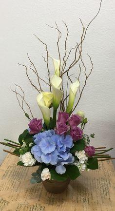 Aileen House Flower basket