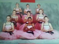 Ballet group photo. I am in tge middle row. Far right
