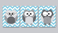 Owl Decor Owl Nursery Baby Nursery Decor - cute craft idea!