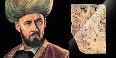 MON CARRÉ DE SABLE : DOSSIER MYSTÈRE : La carte de Piri Reis