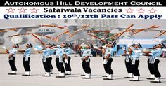 Autonomous Hill Development Council Recruitment InvitesOnline Applications from, those people satisfying certain pre define requirements for filling current job for the Post of 22 Safaiwala Vacancies. Interested applicants need not get worried as associated details regarding the Autonomous Hill Development Council Recruitment 2017 – 2018 is provided and explain here. Interested aspirants people can get …