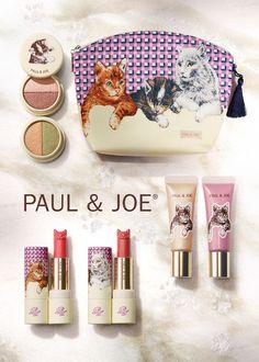 ポール & ジョー ボーテ、ネコモチーフの2013年クリスマスコスメ発表 | Fashionsnap.com