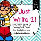 Writing Task Cards for Grades 3 - 5 (Set #2)
