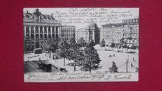 Leipzig 1903. Am Königsplatz.