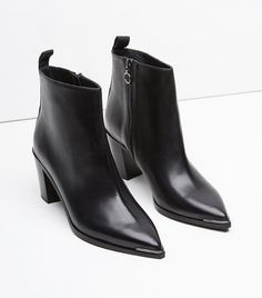 Acne Studios Loma Ankle Boots in Black