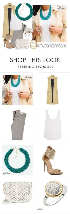 """""""My Park Lane Style"""" by parklanejewelry on Polyvore featuring Oasis, AG Adriano Goldschmied, Frame Denim, Under One Sky, parklanejewelry and myparklanestyle"""