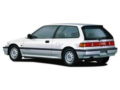 Honda Civic Hatchback (1988 – 1991). had one in red