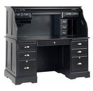 Black Roll Top Desk -