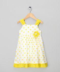 Take a look at this Lime Winnie Dress - Infant, Toddler & Girls by Powell Craft on #zulily today!