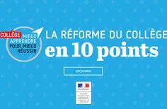 'La réforme du collège en 10 points' by Ministère de l'Éducation nationale, de l'Enseignement supérieur et de la Recherche