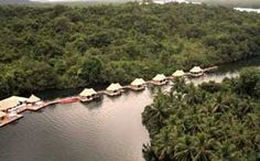 4 Rivers Floating Lodge Aerial