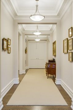 Greenwich townhouse hallway