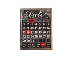 Kalender Good Times, 27 x 35 cm | Westwing Home & Living