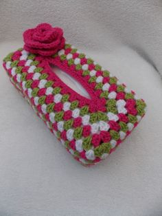 Link to pattern for tissue box cover