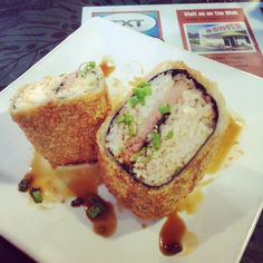 FRIED spam musubi....amaaaaaaaaaazing!!