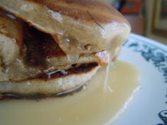 Buttermilk syrup, thick and gooey