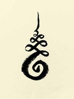 Unalome buddhist tattoo sketch-w636-h600