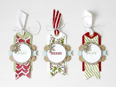 #ICYMI: Using assorted Cardstock Packs to create brilliant Christmas gift tags (link in profile).