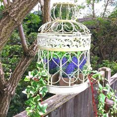 A cottage garden can incorporate quirky or funny ideas, like painted signs, that would not go with a more formal garden concept. The cottage garden projects Formal Gardens, Outdoor Gardens, Indoor Garden, Rose Garden Design, Starting Seeds Indoors, The Perfect Getaway, Garden Cottage, Winter Garden, Bird Cage