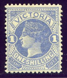 1885 Stamps of Victoria