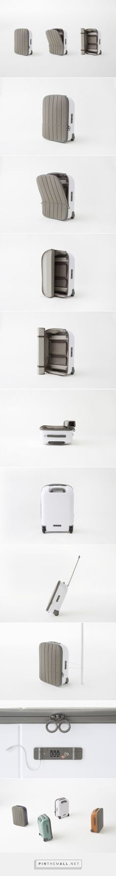 kamen suitcase for Fabbrica Pelletterie Milano - http://en.fpm.it/content/travel-hand_luggage | Designer: Nendo