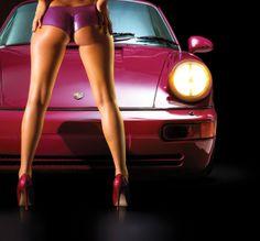 Porsche by TK, via Behance #porsche #cargirl