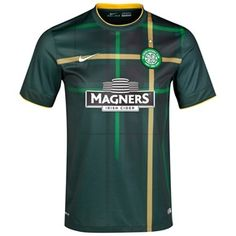 Celtic Away Shirt 2014/15 - With Sponsor Green