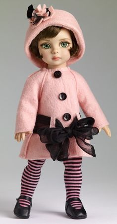 Patsy's Town Coat / Child Doll by Robert Tonner...I thought she would mak a good friend for Blythe :-)