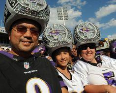 Ravens Super Bowl ring hat
