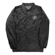 Drop Out Coaches Jacket (Black)