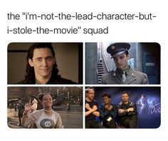 And the fact that both Tom and Sebastian both auditioned for the lead makes it even better