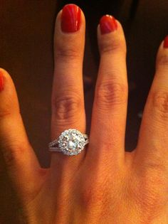 Engagement Ring that I am obsessed with.
