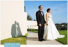 Romantic Peter Pan Shadow - LA Wedding Photographer, Kissing Show Photos, Unique Wedding Portraits, Wedding Photo Ideas